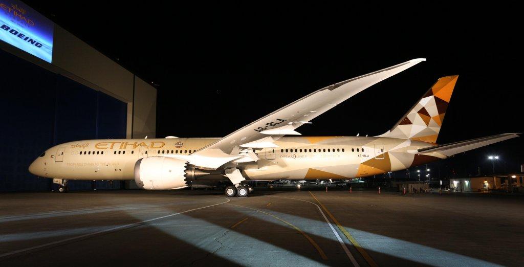 Primer Boeing 787 de Etihad Airlines