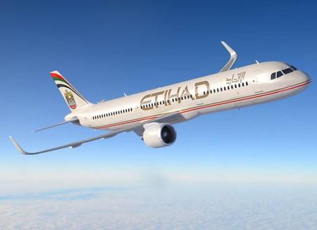 Airbus A321 de Etihad