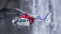 Uno de los dos Eurocopter EC135 utilizados actualmente por la Ertzaintza.