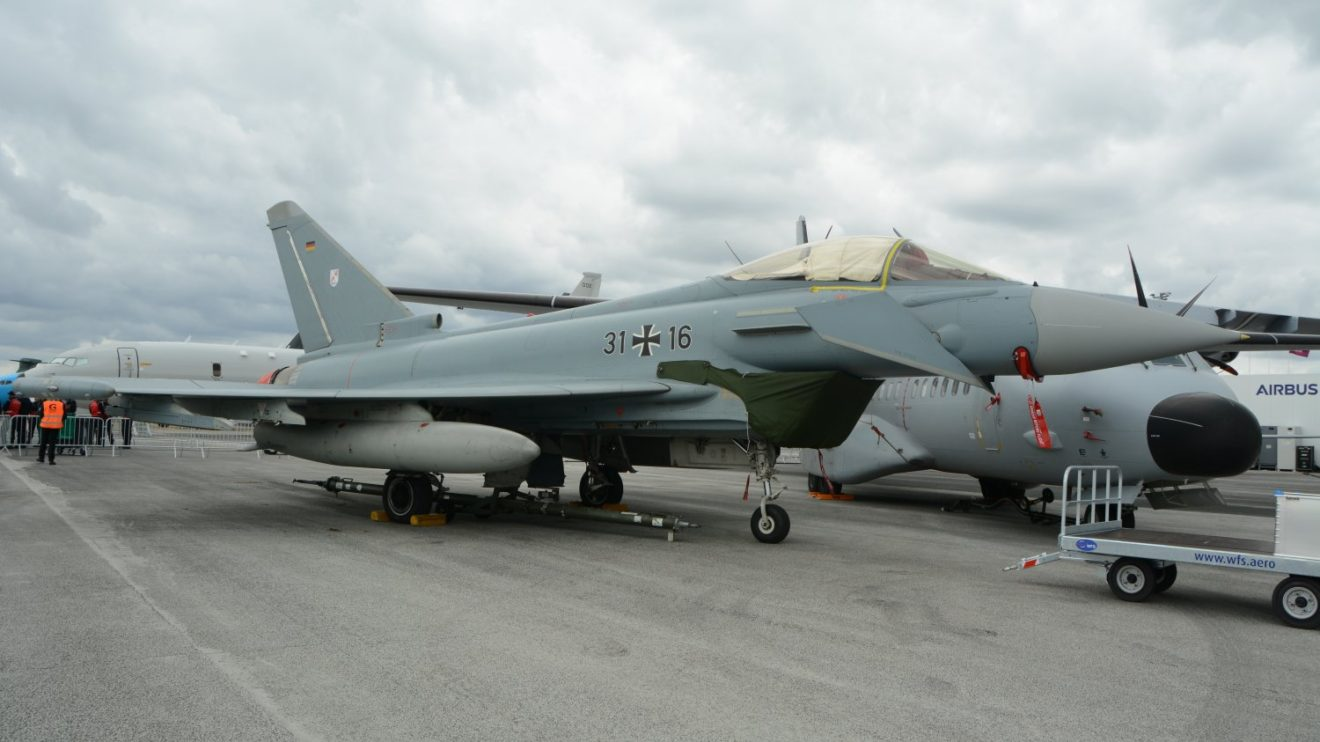 Eurofighter de la Luftwaffe.
