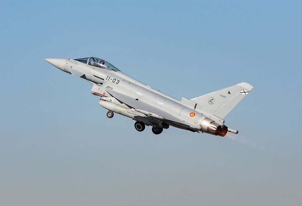 España ha modernizado ya anteriormente los Eurofighter de la Trancha 1, que por ejemplo, no disponían inicialmente del FLIR.