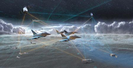 La capacidad para mantenerse conectado con diferentes plataformas terrestres, navales, aéreas y espaciales, tripuladas o no, se ve como un requisito ineludible para la próxima generación de aviones de combate.