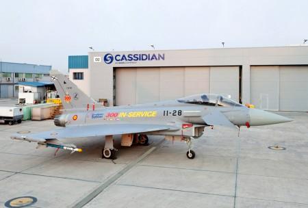 Cassidian España lidera la oferta de Eurofighter para Corea del Sur