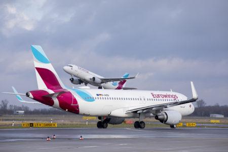 Aviones Airbus A320 de Eurowings.