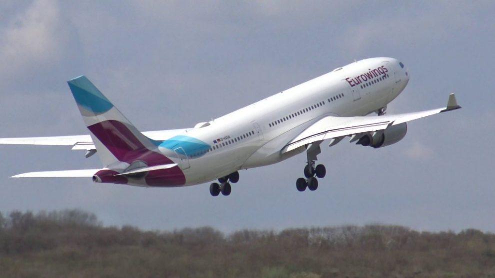 Eurowings cuenta con una flota de aviones Airbus A330 para sus vuelos de largo radio.