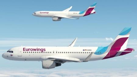 Nueva imagen para Eurowings.