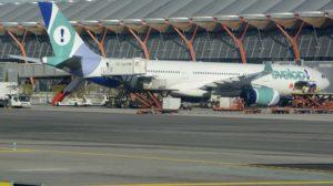 Evelop vuela a Medellín por cuenta de Avianca por la huelga de sus pilotos hace unos meses.