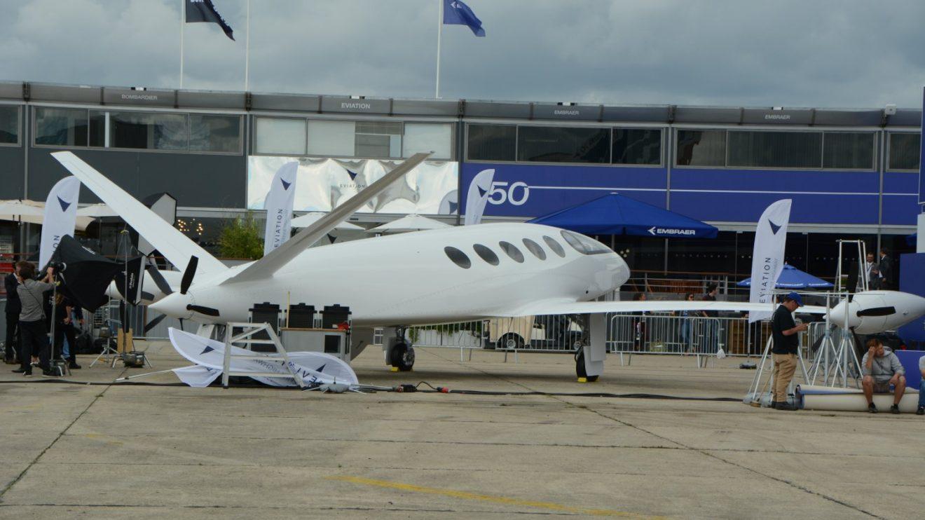 Eviation Alice, avión eléctrico para pasajeros desarrollado en Israel.