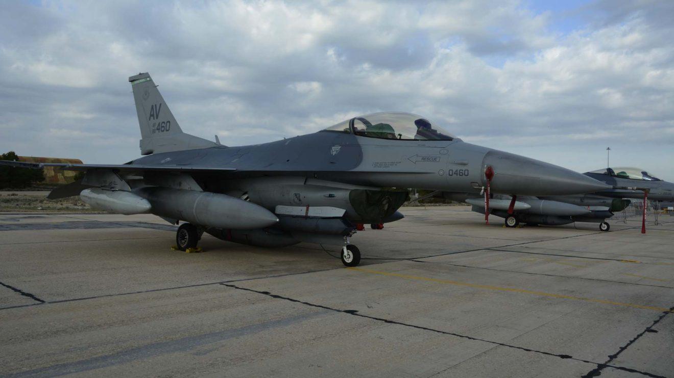 El F-16C 88-0460 ha pertenecido a varias unidades en la base aérea de Hill hasta febrero de 2017 que fue transferido a la de Aviano.