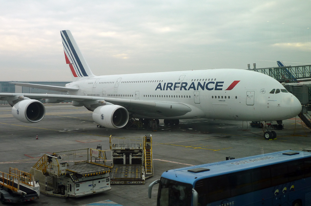 Airbus A380 F-HPJD de Air France
