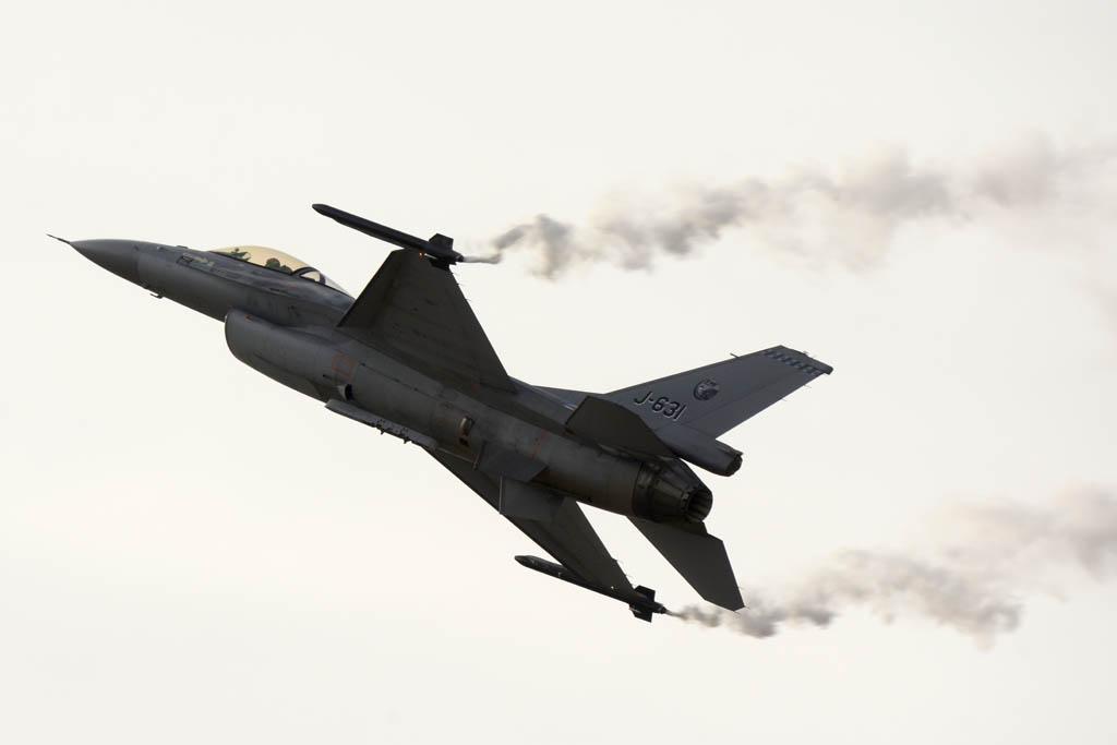 F-16 de la Fuerza Aérea de Holanda