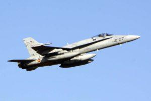 El Ala 12 participa en los ejercicios Trident Juncture de la OTAN con seis de sus F/A.18.