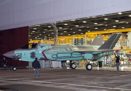 Primer F-35B para Reino Unido