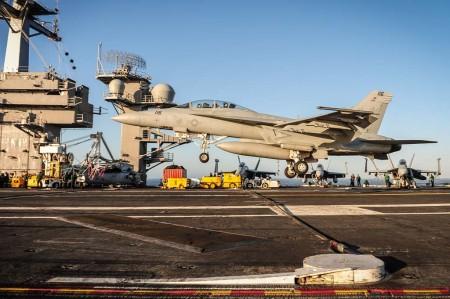 Entre las entregas de Boeing en el primer trimestre de 2017 han estado 6 F/A-18.