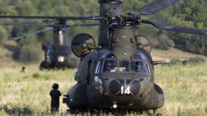 De los CH-47D de FAMET sólo se aprovecharán los motores, y las transmisiones principal y de combinación.