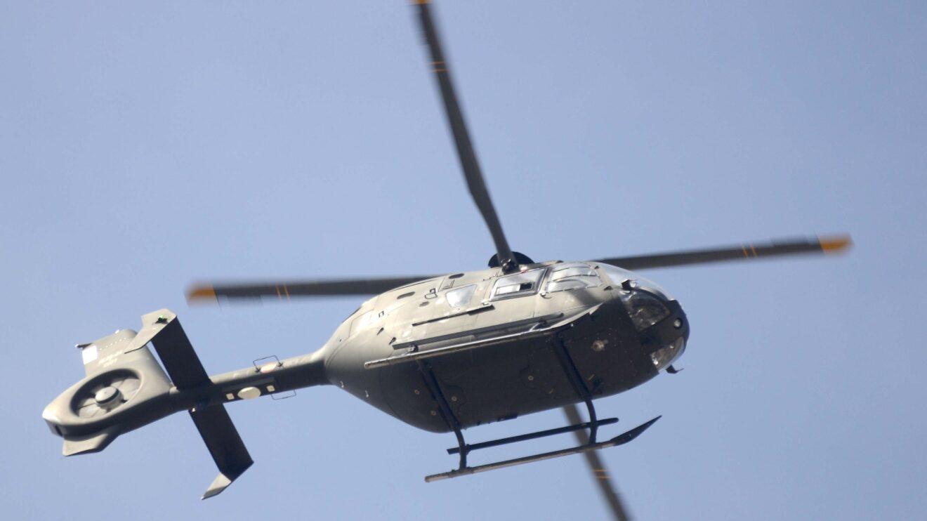 Entre los seis helicópteros de FAMET estaba este Airbus EC-135.