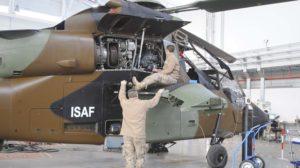 Revisión de un motor MTU/Turbomeca/Rolls-Royce MTR390 de un Airbus Helicopters Tigre de FAMET.