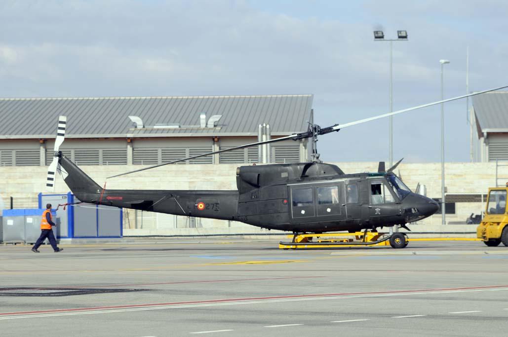 Inaer gana el concurso público para el mantenimiento de los AB 212 de FAMET