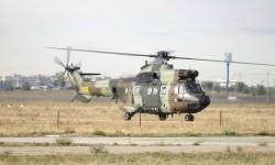 Uno de los helicópteros de FAMET con camuflaje similar al empleado en los Tigre