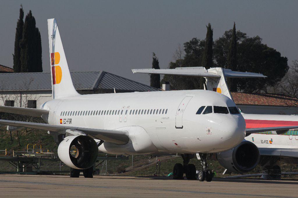 EC-FGR A320 de Iberia Express
