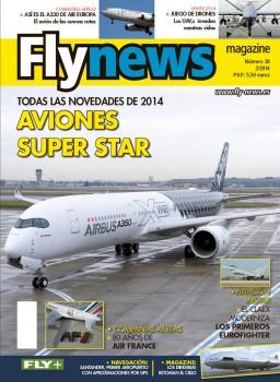 Portada del número de febrero de 2014 de Fly News