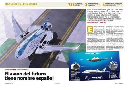 Sky Whale, el avión del futuro con firma española