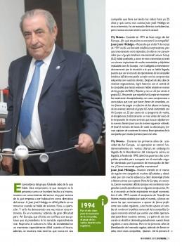 Entrevista a Juan José Hidalgo en Fly Newas