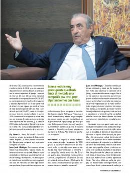 Entrevista a Juan José Hidalgo en Fly News