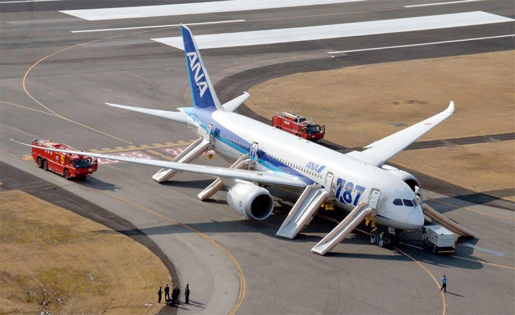 EL B-787 SE QUEDA EN TIERRA