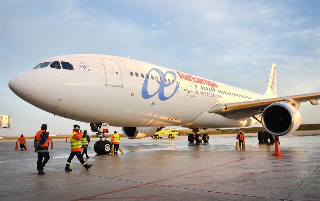 Air Europa inaugura nueva ruta a Montevideo