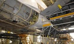 Beilly fairing del A340-600 desmontada