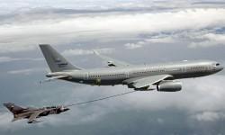 Airbus A330 MRTT y Tornado de la RAF