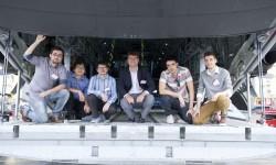 El equipo brasileño de la Universidad de San Pablo, Team Levar, ganó la competición Fly Your Ideas 2013.