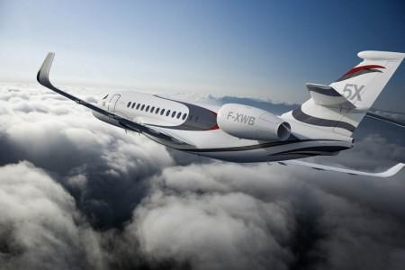 Nuevos Dasault Falcon 5X