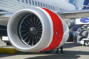 """El """"anillo"""" marcado en rojo es la pieza del carenado del motor que hasta 2025 fabricará Airbus en Bahía de Cádiz."""
