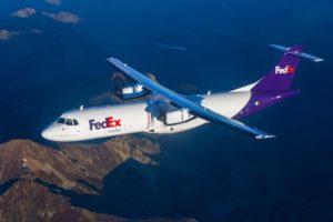 ATR ha desarrollado el ATR 72-600F a petición de Fedex.