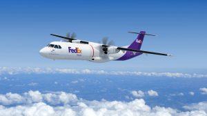 Los ATR 72-600F de Fedex serán los primeros en versión carguera de esta variante del bimotor franco italiano.
