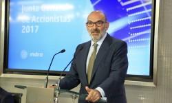 Fernando Abril-Martorell Presidente de Indra
