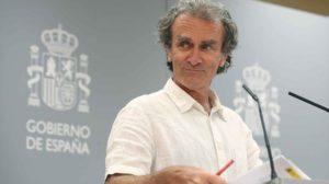 Fernando Simón durante una de sus comparecencias ante la prensa por la crisis del COVID-19.
