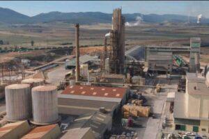 Planta de Fertiberia en Puertollano en la que CT Ingenieros trabaja en su descarbonización.