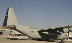 FIDAE se celebrsa en lsas instalaciones del Grupo 10 de la Fuerza Aérea de Chile operador de los C-130.