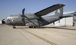 El G.222 en territorio CASA.
