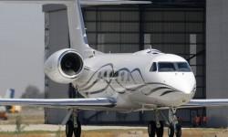 El Gulfstream IV-X otro de los ejecutivos en FIDAE 2012.