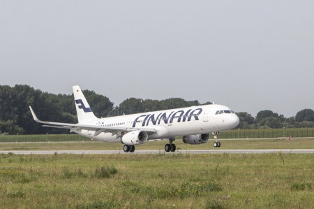 Airbus entrega a Finnair el primer A321 con sharklets