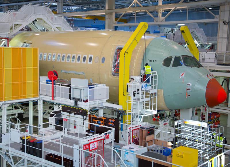 Primer Airbus A350 de Finnair.