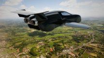 El Firenze Lanciare tiene más del diseño de Chitty Chitty Bang Bang que del de otors coches volarores.