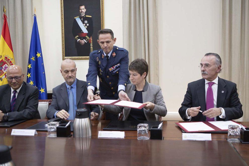 Firma entre GMV, Sener y Tecnobit pata el NGWS/FCAS.
