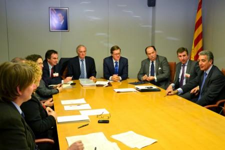 Firma acuerdo da la nueva sede de Sener en Cataluña