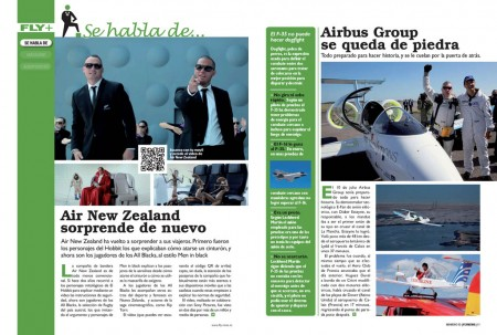 El nuevo video de seguridasd de Air New Zealand, el chaco de Airbus y los problemas de F-35.
