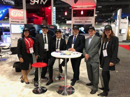 Delegación de GMV en Satellite.